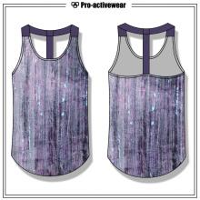 OEM Fábrica Mulheres Racerback Fitness Workout Gym Tank Top