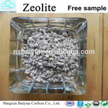Tratamiento de aguas residuales 1-2MM Precio bajo granular Zeolita natural