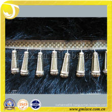 Wooden Beads Tassel Curtain Trimming Fringe For Curtain,Tapestry,Lamp and Valance Decoration,Tassel Importer