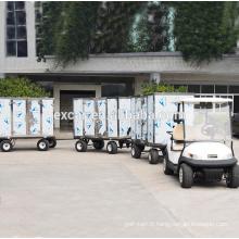 Tension de la batterie 48V et certification CE prix chariot de golf tralier électrique