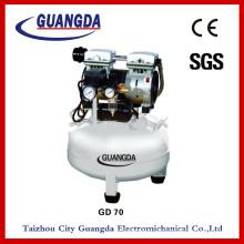 SGS CE 800W 35L 150L / Min Ölfreier Luftkompressor (GD70)