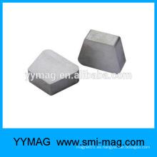 Imán trapezoidal de la tierra rara Sm2Co17