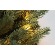 9FT. Blue Noble Spruc Artificial Christmas Tree with LED Lights (M100.069.01)
