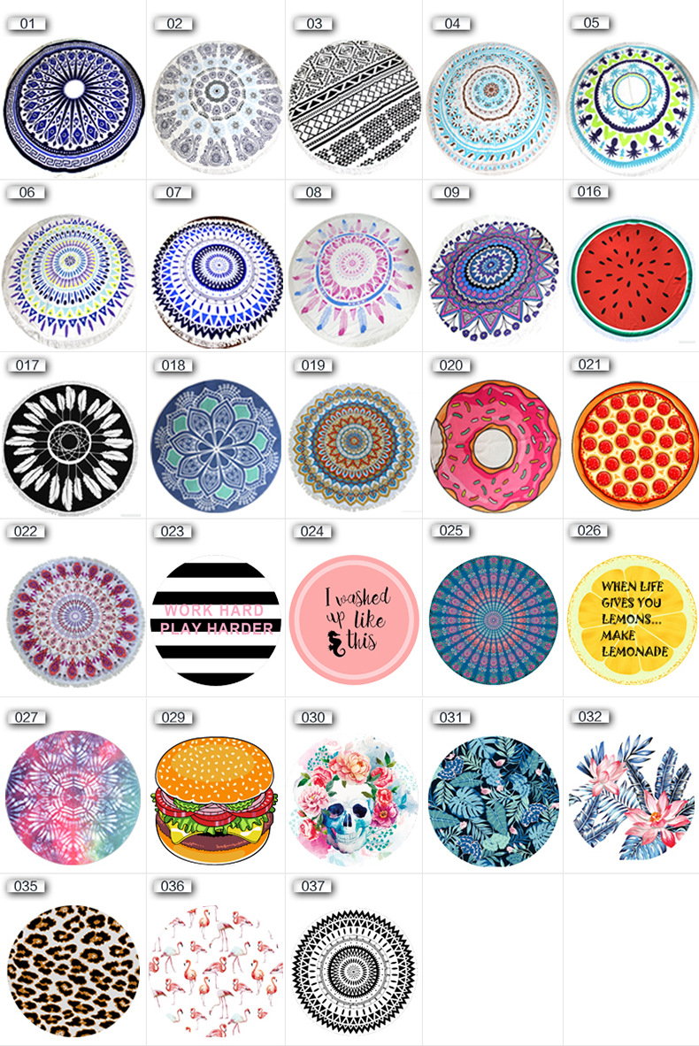 Round Towel Beach