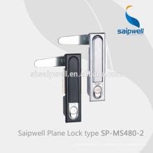 Serrure de porte coulissante de haute qualité de Cabinet en métal de Saip / Saipwell avec la certification de la CE