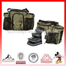 Le refroidisseur de sac de refroidisseur de gestion a isolé le sac de préparation de repas de 3 repas HCC0017
