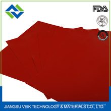 tissu de fibre de verre enduit par caoutchouc de silicium de silicone de résistance à hautes températures