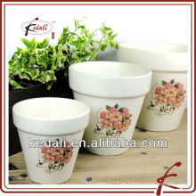 Florero de cerámica de decoración