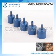 13mm und 14mm DTH Drill Bits schärfen Pins