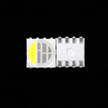 SMD 5050 RGBW LED 4-Chips LED RGB Vit