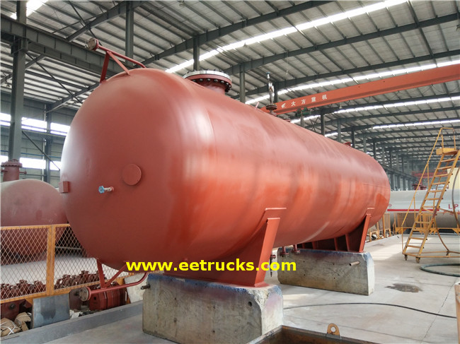 LPG Mounded Storage Bullets