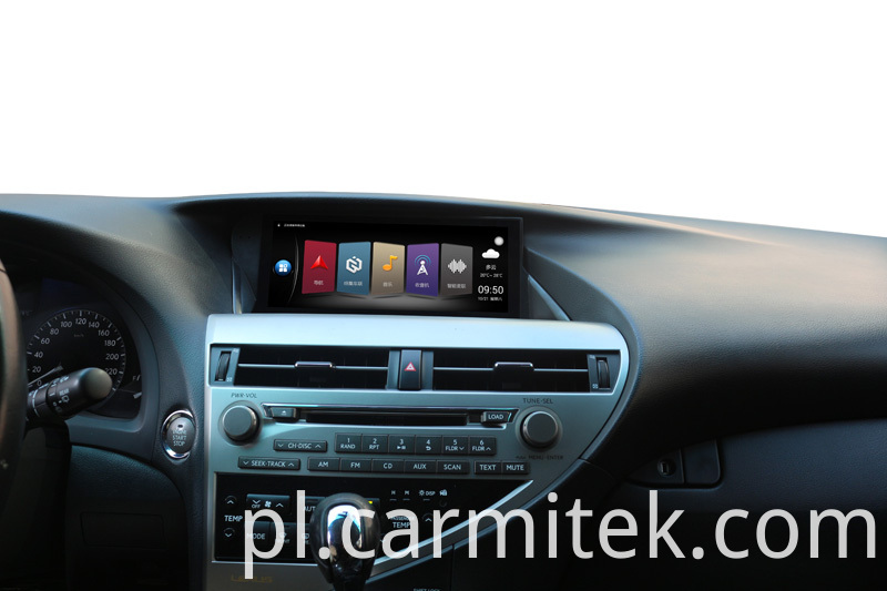 Android car radio gps for Lexus