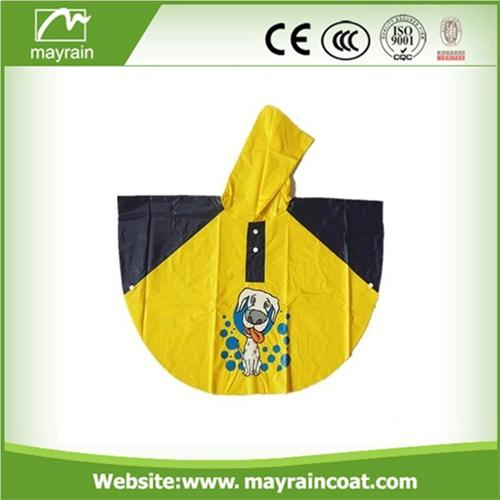 Cartoon Rain Poncho