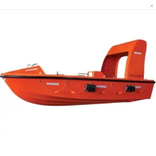 lifesaving rigid boat SOLAS 6M F.R.P fast rescue boat
