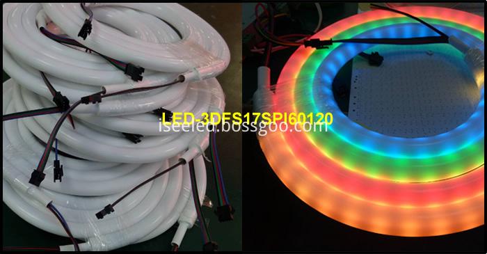 360 degree Flexible LED Strip Tube lights