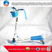 New Popular Foldable Pedal Child Frog Scooter /Children Swing Scooter/Kid Kick Scooter