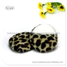 Échantillon gratuit de cosmétique visage Puff attrayant Leopard