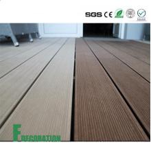 Decking composto de madeira do baixo custo UPVC