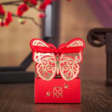 Casamento de caixa de chocolate doce estilo chinês