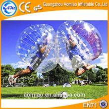 Al aire libre / interior inflable cuerpo rebote balón deportivo balón de fútbol burbuja pelota alquiler