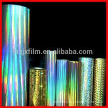 Nahtloser holographischer Film / BOPP PET holographischer Film / Holographischer Film für Kartonlaminierung