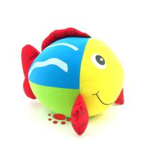 Stuffed Microbeads Foam Fish Toy