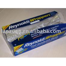 aluminium foil sheet