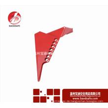 Wenzhou BAODSAFE BDS-F8604 Vierteldrehkugelventil Griff Lockout Sicherheitsschloss Rot