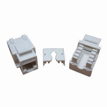 90 Dgree CAT6 UTP RJ45 Keystone Jack (ST-CAT6-KJ09-G)