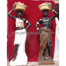 Life Size Stone Marble Statue Sculpture in Multi Colour (SY-C1065)