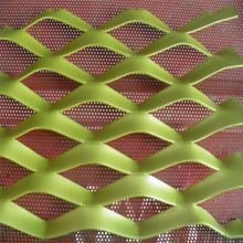 Plastic Coated Aluminium Mesh Expanded Metal For Decoration