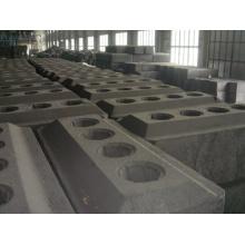 Anode pré-cuite d'anode de carbone électrolytique en aluminium