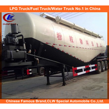 Heavy Duty Dry Bulk Cement Transport Tank Trailers 30tons
