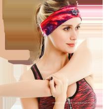 Factory Fashion Custom Yoga Head Band Elastic Sporting Fitted Headband