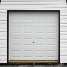 Residential Aluminum Alloy Sectional Garage Door