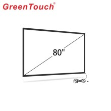 80 بوصة IR Touch Frame Kit DIY