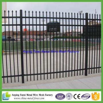 Padrão de qualidade superior Austrália 2.1mx2.4m Tradicional Commercial Welded Steel Fence