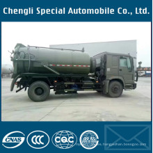 4X4 Transport Specialized Vehicle Sewage Fecal Suction Truck