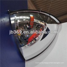 garage polycarbonate quarter dome mirror in china