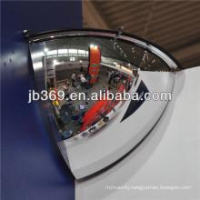 garage polycarbonate quarter dome mirror in china