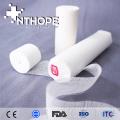 Paquete absorbente médico de la gasa del rollo de la gasa del algodón 100%