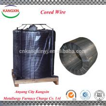 Anyang kangxin suministro de silicio calcio / sica en polvo / sica alambre con núcleo