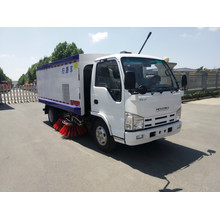 ISUZU 4x2 multi-functional full suction road sweeper truck
