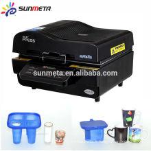 Machine de transfert de vide de machine d'impression 3D de haute qualité de 2014 de qualité supérieure Machine de transfert de vide de machine d'imprimante 3D Machine de presse de chaleur