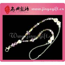 Laine de collier de perle de cristal de bijoux de mode Bling