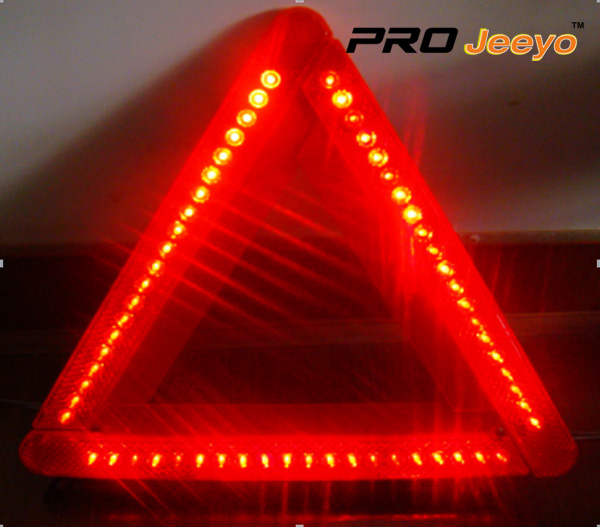 LED Flashing Light Warning Triangle DL-210 13