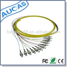 "factory price om3 sc fiber optic pigtail for standard 19"" racks installation"