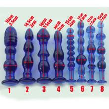 Brinquedos adultos do sexo Dildo de cristal para mulheres Ij_P10046