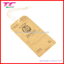 Craft Paper Hang Tag for Clothing