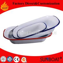Sunboat Geschirr Emaille Butter Teller Platte